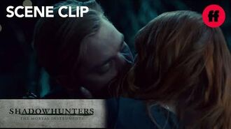 Shadowhunters Season 2, Episode 14 Clary Kisses Jace Freeform