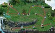 Save Santa Claus - Lv30 - route map