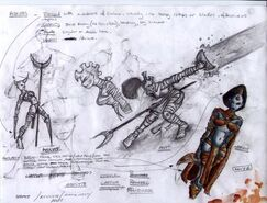 Concept art 05 Sisters in action 1