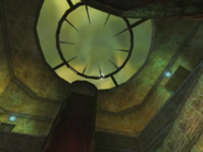Shadowman temple of fire skylight