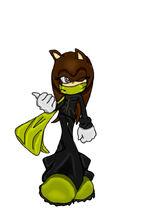 Diana Dreamer the Hedgehog badass