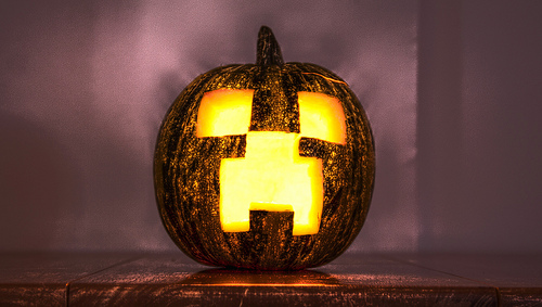 File:Minecraft Halloween- Creeper (HDR version).jpg