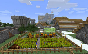 The Village in Minecraft