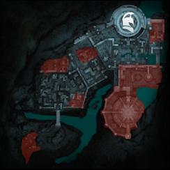 Рэит-Тени прошлого Минас-Итиль (карта)