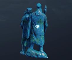 Азуритовая статуэтка Синих магов (точка)