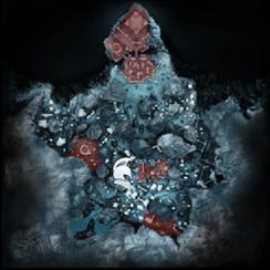 Каннас-Тени прошлого Кирит-Унгол (карта)