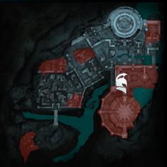 Рут-Тени прошлого Минас-Итиль (карта)