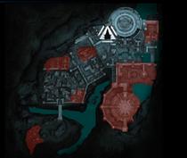Теней-итильдин Минас-Итиль (карта)