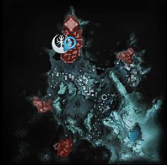 Карта Модель эльфийского корабля