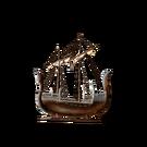 Модель эльфийского корабля