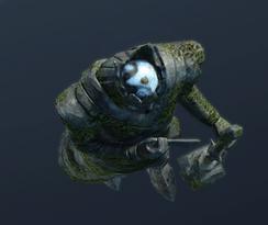 Идол, изображающий Моргота (точка)