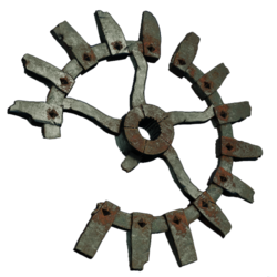 Зубец эскаватора