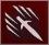 Метательный нож (иконка)