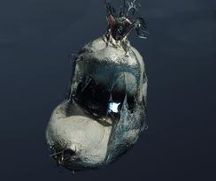 Раздавленное яйцо паука (точка)