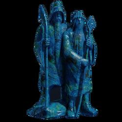 Азуритовая статуэтка Синих магов