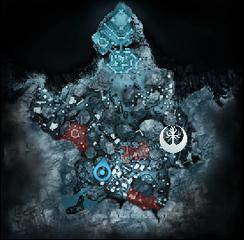 Карта Окаменелый клюв кальмара