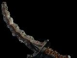 Меч со змеевидным лезвием