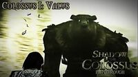 Shadow of the Colossus (PS3) - Colossus I Valus - Playthrough Gameplay