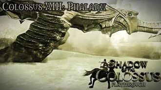 Shadow of the Colossus (PS3) - Colossus XIII Phalanx - Playthrough Gameplay