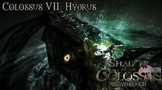 Shadow of the Colossus (PS3) - Colossus VII Hydrus - Playthrough Gameplay