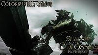 Shadow of the Colossus (PS3) - Colossus III Gaius - Playthrough Gameplay