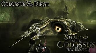 Shadow of the Colossus (PS3) - Colossus X Dirge - Playthrough Gameplay