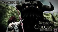 Shadow of the Colossus (PS3) - Colossus II Quadratus - Playthrough Gameplay