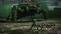 Shadow of the Colossus (PS3) - Colossus IX Basaran - Playthrough Gameplay