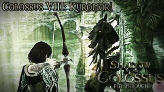 Shadow of the Colossus (PS3) - Colossus VIII Kuromori - Playthrough Gameplay