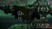 Shadow of the Colossus (PS3) - Colossus V Avion - Playthrough Gameplay