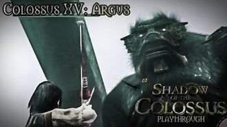 Shadow of the Colossus (PS3) - Colossus XV Argus - Playthrough Gameplay