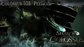 Shadow of the Colossus (PS3) - Colossus XII Pelagia - Playthrough Gameplay