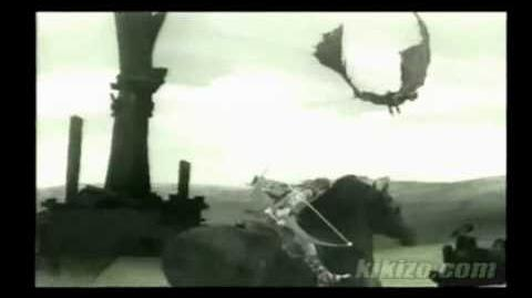 Shadow Of The Colossus Black Bird (Colossus Beta)