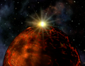 Flare over planet Fire.png