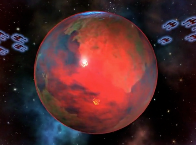 File:Planet Tek about to consumed by the Beast Planet.png