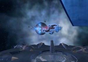 The Alliance fights to enter the nebula