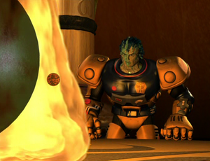 The Alliance fights to halt the Beast Planet's advance on Fire