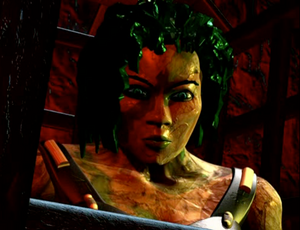 Jade behind bars