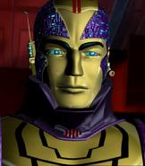 Tek King closeup