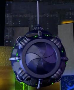 Voxx inside a World Engine