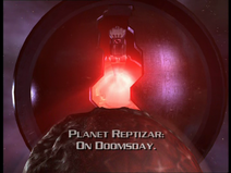 Beast Planet bears down on Planet Reptizar