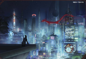 Neo-Tokyo (Fifth Edition Core Rulebook)