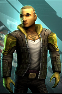 Paco a Cutter (Shadowrun Returns)