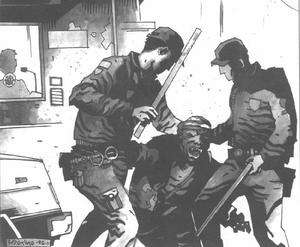 Police Brutality in Chico-Oroville (Shadowrun Sourcebook, California Free State)