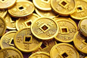 Chinese Gold Coins (Internet)