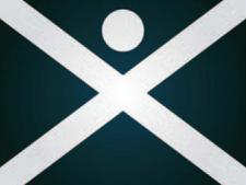 Caribbean League flag from Shadowrun Sourcebook, Sixth World Almanac