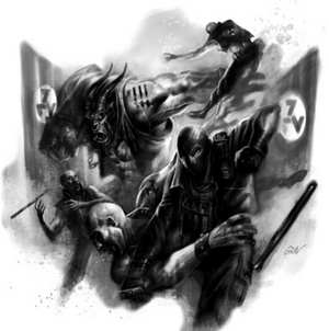 Antifa Direct Action (Shadowrun Sourcebook, Loose Alliances)