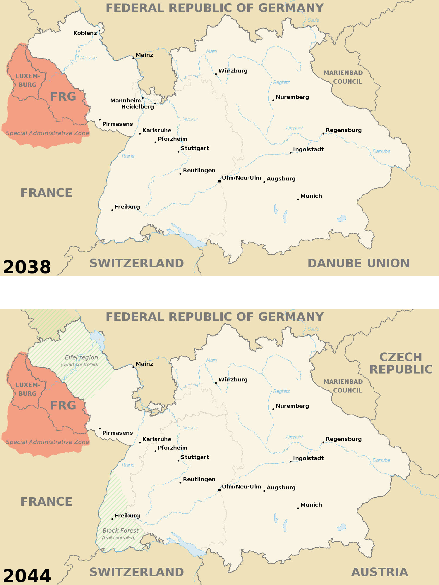 south german league 2038 and 2044