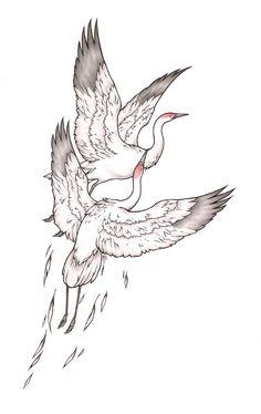 White Crane (Internet)