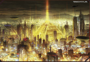 Tenochtitlan from Shadowrun 5th Edition Core Rulebook